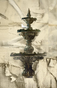 The Fountain 1/20 Mixed-Media Iskra Johnson- Portfolio2 Gallery