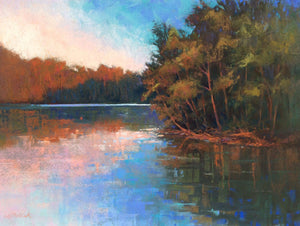 Lake Glow Paintings Laura Pollak- Portfolio2 Gallery