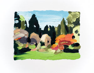 Landscape (Arboretum #13) Paintings David Coleridge Ryan- Portfolio2 Gallery
