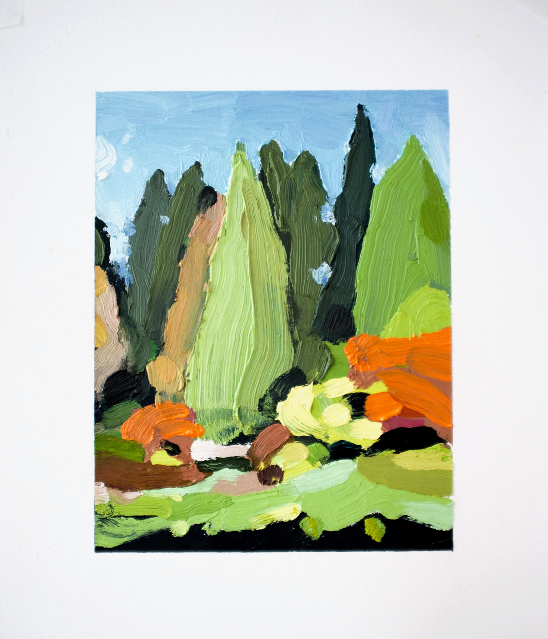Landscape (Arboretum #15) Paintings David Coleridge Ryan- Portfolio2 Gallery