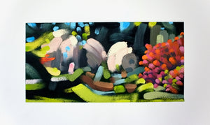 Landscape (Arboretum #25) Paintings David Coleridge Ryan- Portfolio2 Gallery