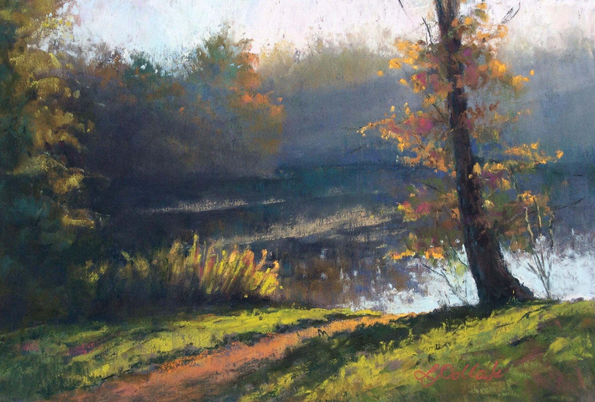 Morning Mist Paintings Laura Pollak- Portfolio2 Gallery