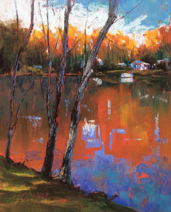 Fall Fire Paintings Laura Pollak- Portfolio2 Gallery