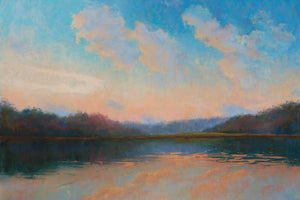Sunset on the Lake Paintings Laura Pollak- Portfolio2 Gallery