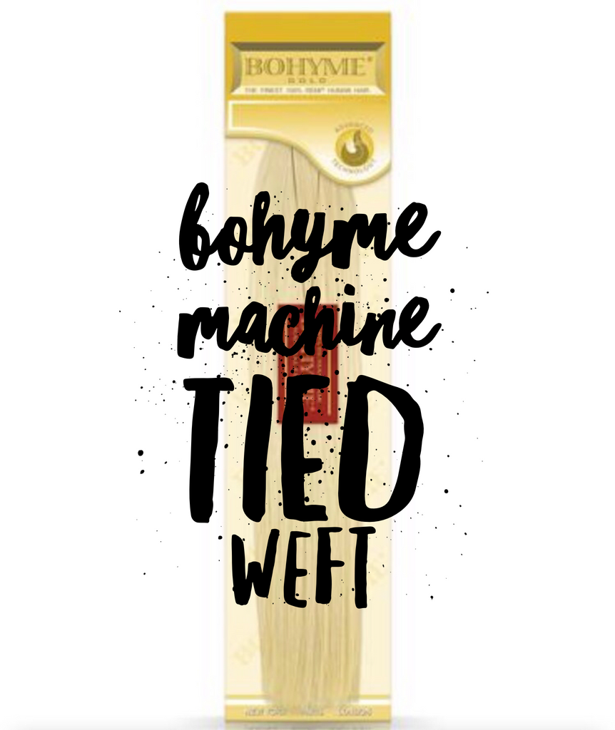 Bohyme Machine Tied Weft