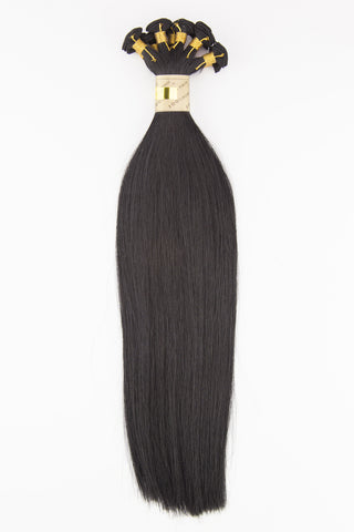 #1 (BLACK LICORICE) HAND TIED WEFT
