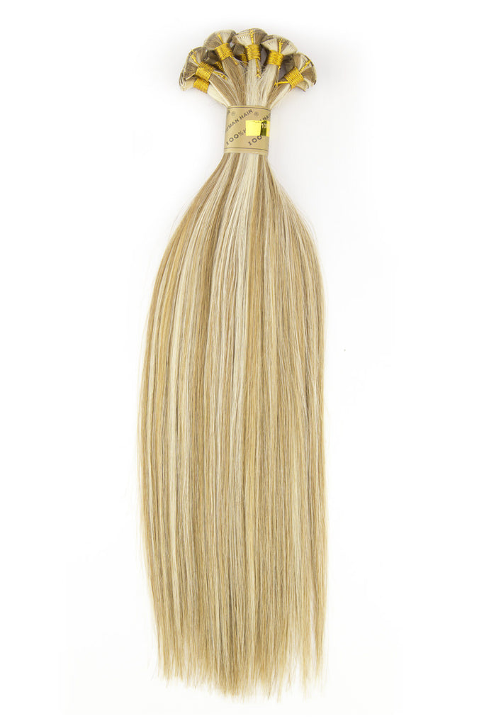 #18/BL22 (HONEY MUFFIN) HAND TIED WEFT