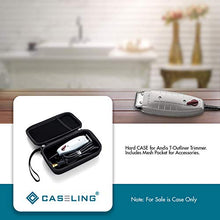 Hard Case Fits Hair Trimmer Andis Professional T-Outliner with T-Blade or Whal 5-Star Balding Clipper #8110 (trimmer not included) by caseling-com.myshopify.com
