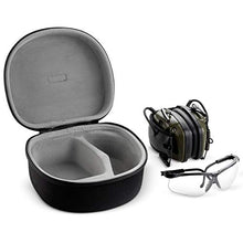 Caseling Hard Case for Howard Leight Impact Sport OD Electric Earmuff ufeffand Genesis Sharp-Shooter Safety Eyewear Glasses (Fits Earmuff & Glass) by caseling-com.myshopify.com