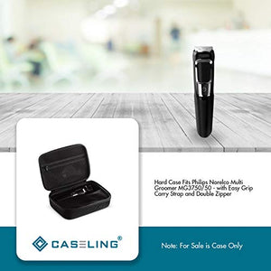 Caseling Hard Case Fits Philips Norelco Multi Groomer Series 3000/5000 / 7000 MG3750 MG5750/49 MG7750/49 / Hatteker Mens Beard Trimmer, hair trimmer, shaver, and clipper (Case Only)