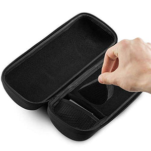 Caseling Hard Travel Case fits Bose SoundLink Revolve+ Portable & Long-Lasting Bluetooth 360 Speaker & Charging Cradle | Storage Carrying Pouch Bag | with Easy Grip Carry Handle and Premium Zipper - caseling.com