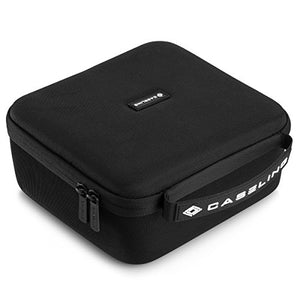 Hard Carry Case fits P-Touch Label Maker PTD400, PTD400AD or PTD450 | Carrying Storage Travel Bag Protective Pouch - caseling.com