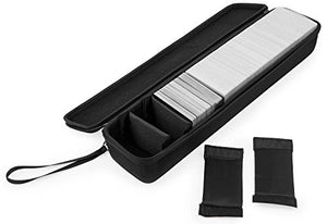Caseling Large Hard CASE for Cards Against Humanity Card Game. Fits the Main Game + All 6 Expansions. Includes 5 Moveable Dividers. Fits up to 1400 Cards. - Card Game Sold Separately. - Black - caseling.com