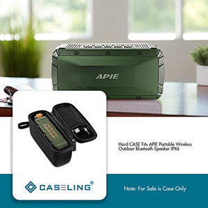 Hard CASE Fits APIE Portable Wireless Outdoor Bluetooth Speaker IPX6. by Caseling - caseling.com