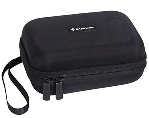 Caseling Hard Carrying GPS Case for up to 5-inch Screens. for Garmin Nuvi, Tomtom, Magellan, GPS – Mesh Pocket for USB Cable and Car Charger - Black - caseling.com