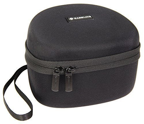 Caseling Hard CASE for ClearArmor 141001 Safety Ear Muffs 34dB NRR Shooters Hearing Protection. - & for Peltor Sport Tactical 100 Electronic Hearing Protector - Mesh Pocket for Accessories. - caseling.com