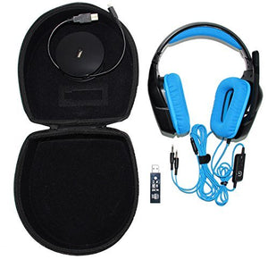 Caseling Hard CASE fits Logitech Wireless Gaming Headset G533, G933, G430, G930, G230, G35, Wireless Gaming Headset Headphone. & Xbox One Stereo Headset by caseling-com.myshopify.com