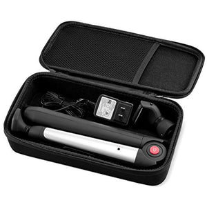 caseling Hard Case fits MANGROOMER Ultimate PRO Back Hair Shaver/Lithium MAX Back Shaver | with Power Supply and The Other Shave Head Blade - caseling.com