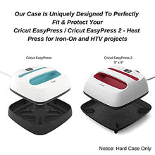 Caseling Hard Case Fits Cricut EasyPress 2, 9x9 Inches Heat Press Machine with Base | Storage Carrying Pouch Bag | with Easy Grip Carry Handle and Double Zipper to Protect Your Device by caseling-com.myshopify.com