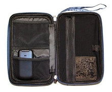 "Caseling Universal Electronics/Accessories Hard Travel Organizer Carrying Case Bag, 9.8"" x 5.6""x 2.8"" - Black - caseling.com"