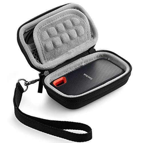 Caseling Hard Case for SanDisk 250GB / 500GB / 1TB / 2TB Extreme Portable SSD Carrying Travel Bag