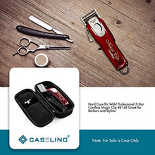 Hard Case fits Wahl Professional 5-Star Cordless Magic Clip #8148 Great for Barbers and Stylists - caseling.com