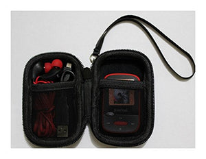 Caseling Carrying Hard Case for Sandisk Clip Jam / Sansa Clip Plus / Clip Sport MP3 Player. - Apple Ipod Nano, Ipod Shuffle. - Black by caseling-com.myshopify.com