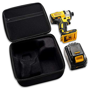 "Hard Case Fits DEWALT DCF887B 20V MAX XR Li-Ion Brushless 0.25"" 3-Speed Impact Driver 