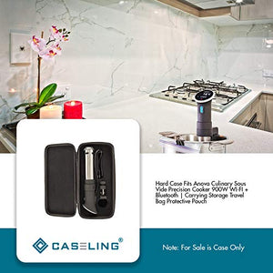Caseling Hard Case Fits Anova Culinary Sous Vide Precision Cooker | WI-FI + Bluetooth | 900W | Carrying Storage Travel Bag Protective Pouch - caseling.com