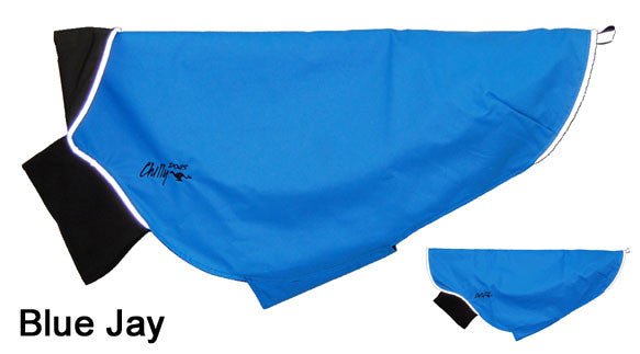 Dog Rain Coat - Rain Slicker - Blue