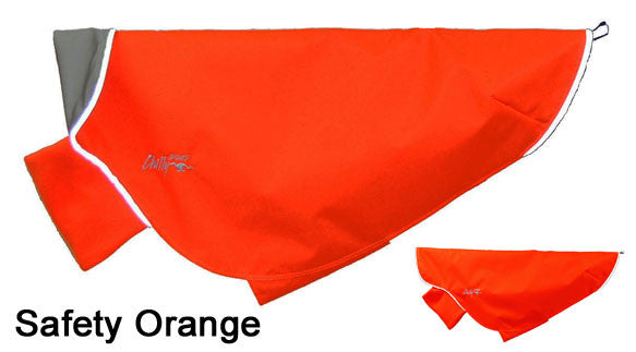 Dog Rain Coat - Rain Slicker - Orange