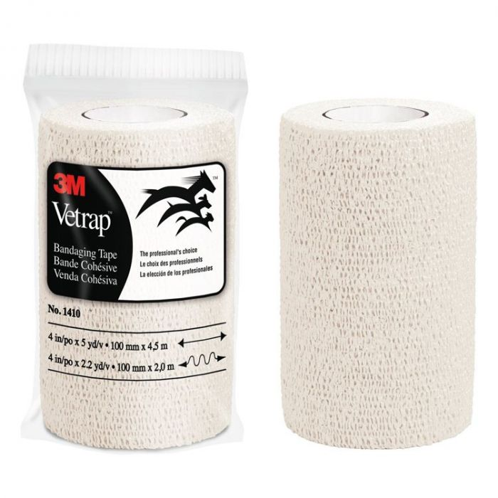 Bandage - 3M Vetrap Self-Adhering Wrap