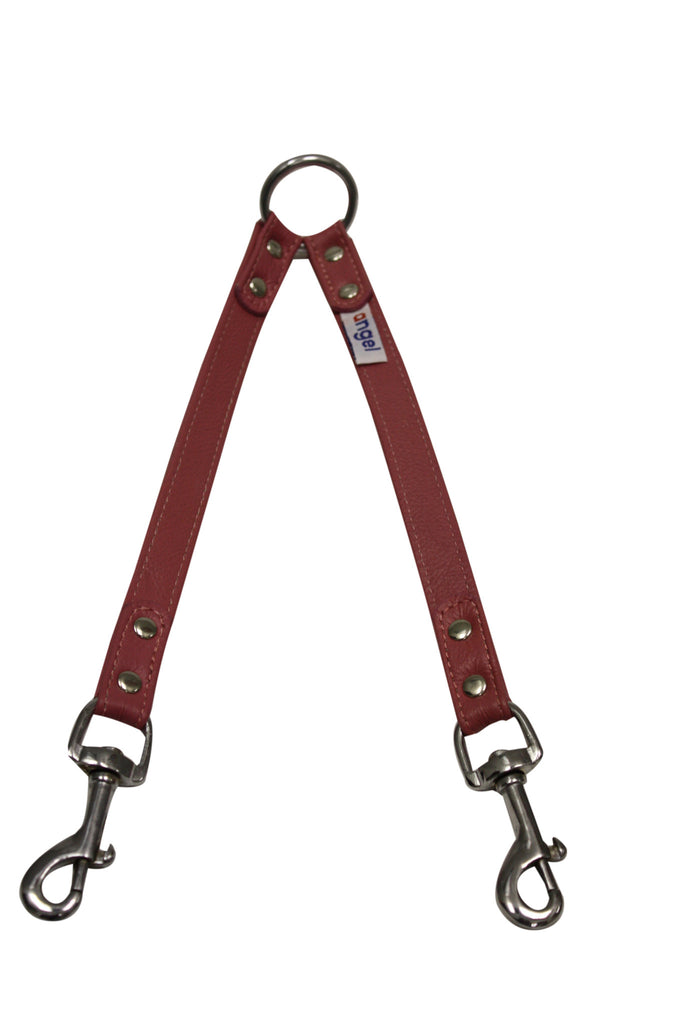 Leash - Coupler, 2 Dog (Leather)