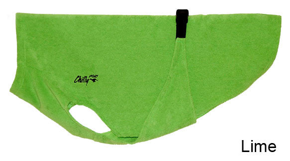Dog Bath Robe - Lime