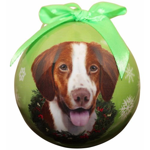 Christmas Ornament - Brittany Spaniel