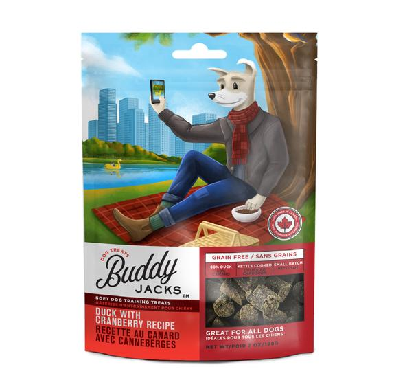 Treat - Buddy Jacks Soft & Chewy Duck with Cranberry
