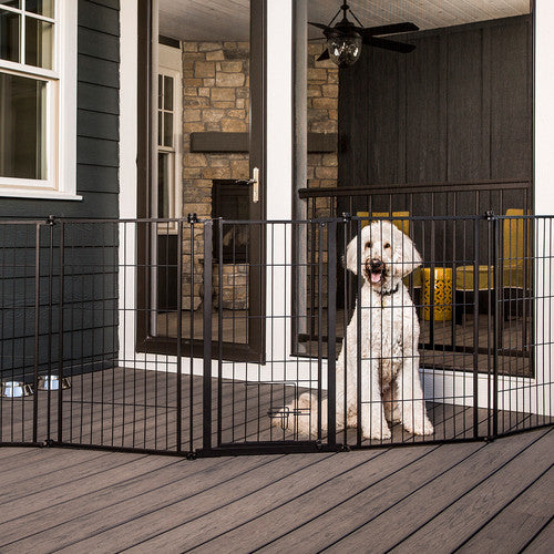 "Crate - 144"" Outdoor Pet Gate"