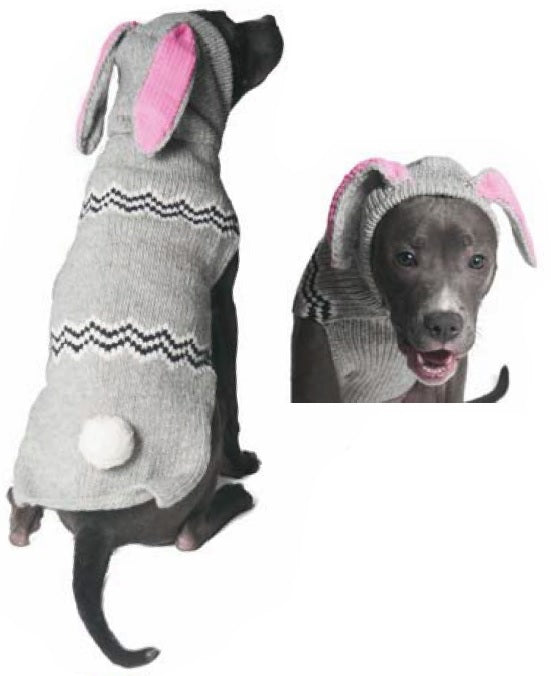 "Apparel - Sweater - Wool - ""Bunny Hoodie"""