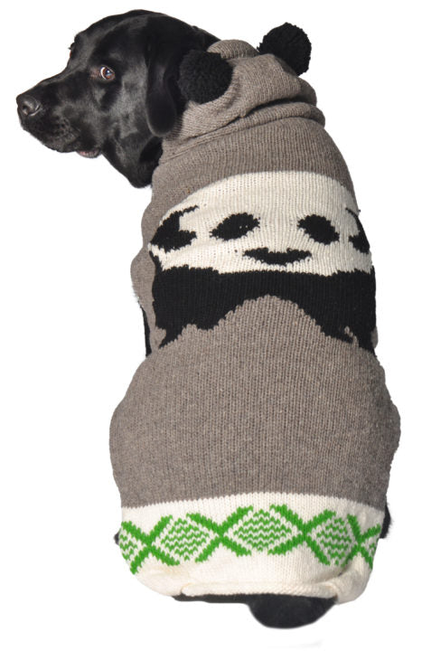 "Apparel - Sweater - Wool - ""Panda Hoodie"""