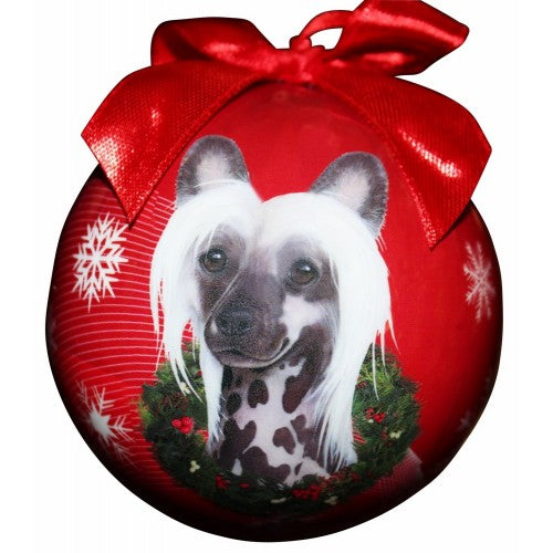 Christmas Ornament - Chinese Crested
