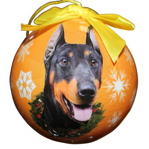 Christmas Ornament - Doberman