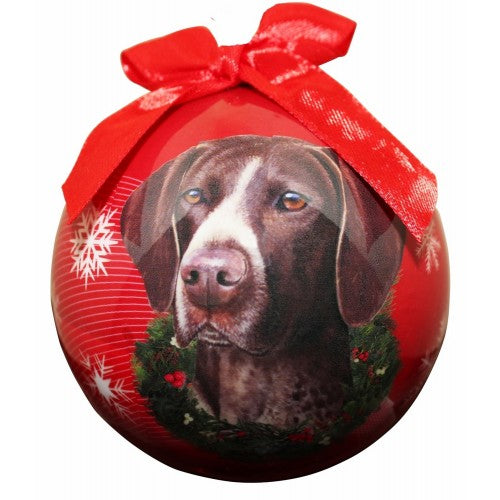 Christmas Ornament - German Short Haired Pointer