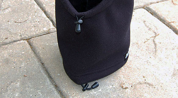 Dog Hat / Head Muff - Black