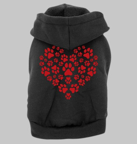 Dog Hoodie - Heart of Paws