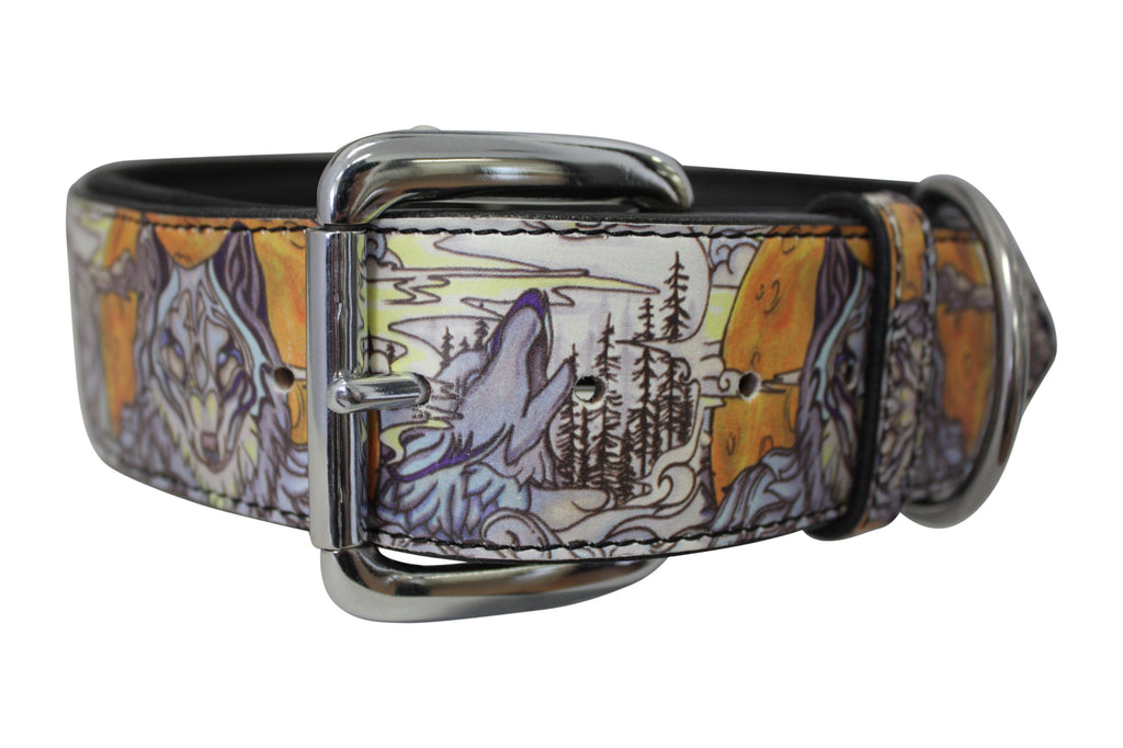 "Collar - ""Angel Inked"" - Wolfs Den (Leather)"