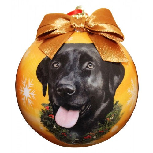 Christmas Ornament - Labrador, Black