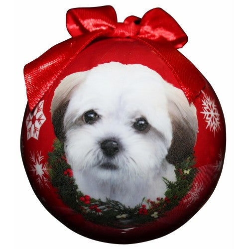 Christmas Ornament - Shihpoo