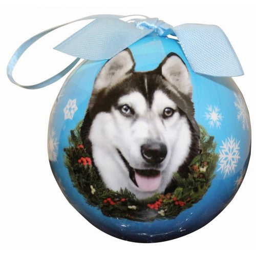 Christmas Ornament - Siberian Husky