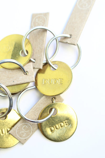 Chaparral Studios Dude small key chain