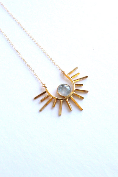 Clifton Rising Moonstone Necklace